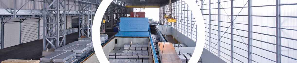 Innovative terminals for efficient storage and transshipment