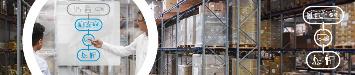 Vereinfachtes Logistikkonzept